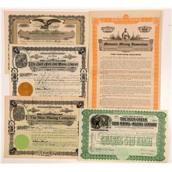 Missoula-area, Montana Mining Stock Certificates   (107114)