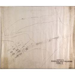 Montana Gold Mining Company Map   (51501)