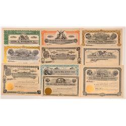 Unissued Montana Mining Stock Certificates   (107243)
