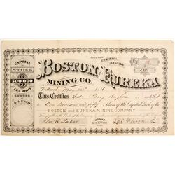 Boston and Eureka Mining Co   (84602)