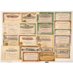 Goldfield, Nevada Mining Stock Certificate Collection   (107084)