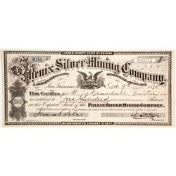 Phenix Silver Mining Co   (86542)