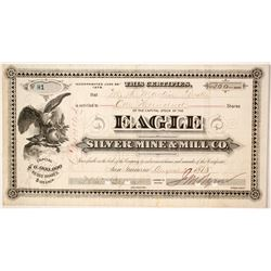 Eagle Silver Mine & Mill Company Stock   (85255)