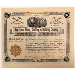 Vulcan, Mining, Smelting and Refining Stock   (106238)