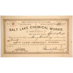 Salt Lake Chemical Works   (88040)