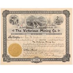 Victorious Mining Company Stock Certificate   (107193)