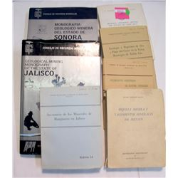 Mexican Mining Books (7)   (85633)