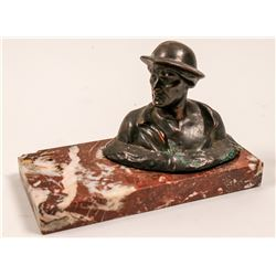 Copper Miner Desk Weight   (106348)