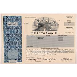 Enron Corp stock   (106315)