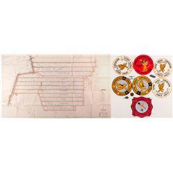 Mine Ephemera - Misc. Patches, Medals, Key Fobs   (50321)