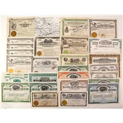 Northwest Mining Stock Certificates   (87318)