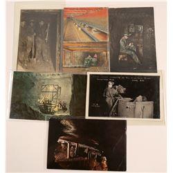 Underground Mining Postcards   (105109)