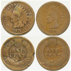 Indian Head Pennies / 2 Items.    (102157)