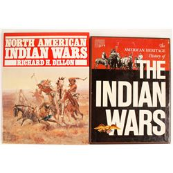 The Indian Wars; North American Indian Wars (2 Books)   (63447)