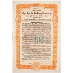 Apache Railroad Co Bond   (83219)