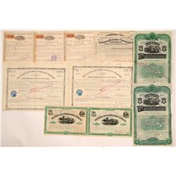 Connecticut Railroad Bonds (4) & Stocks (7)    (105699)
