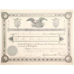 Mine Hill Railroad Stock, #9   (85104)