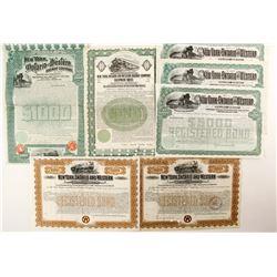 New York, Ontario and Western Railway Co. bonds   (88914)