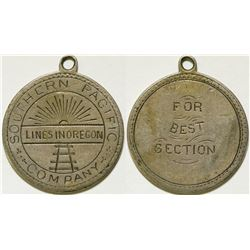 Southern Pacific Railroad Medal   (105241)