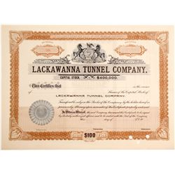 Lackawanna Tunnel Stock   (85124)