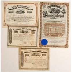 Pennsylvania Railroad stock/bond   (86955)