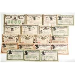 Union Railroad Co Certificates (20)   (86900)