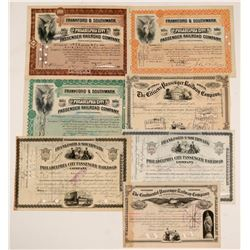 various Pennsylvania Railroad stock   (106121)