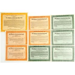 Chicago, Milwaukee, St. Paul and Pacific Railroad Co. Specimens (9)   (86907)