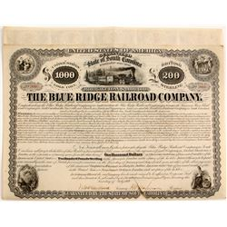 Blue Ridge Railroad Company    (83104)