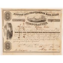 Boston and Providence Rail Road  Corp. Stock   (106183)