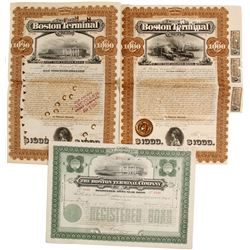 Boston Terminal Company Bonds   (83144)