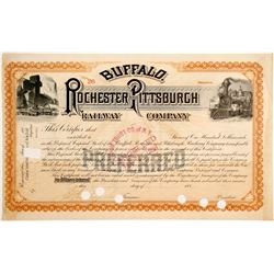 Buffalo, Rochester and Pittsburgh Railway Stock   (83255)