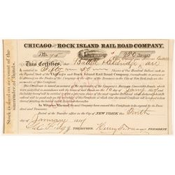 Chicago and Rock Island Rail Road Co   (106180)