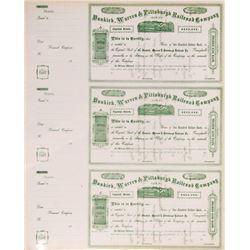 Dunkirk, Warren & Pittsburgh Railroad Co.   (106424)