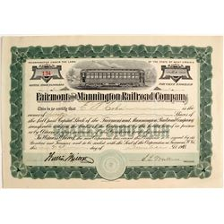 Fairmont & Mannington Railroad Company, WV   (75803)