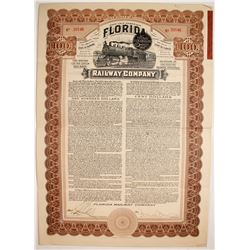 Florida Railway Company First Mortgage Gold Bond   (75836)