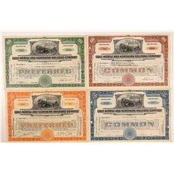 Gulf, Mobile & Northern Railroad Co. Stocks (4)   (106031)