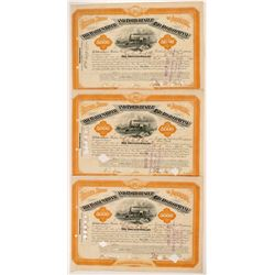 Harlem River and Portchester Railroad Co.  Bonds (3)   (105706)