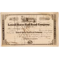 Lowell Horse Rail Road Co.   (106188)
