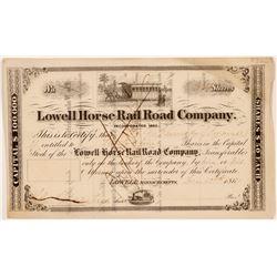 Lowell Horse Rail Road Co.   (106188)