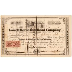 Lowell Horse Railroad Co   (106050)