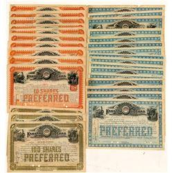 Missouri, Kansas & Texas Railway Co. Stock Certificates   (107353)