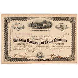 Missouri, Kansas and Texas Extension Co.   (106310)