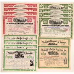 Nashville Railroad Dealer Lots     (105202)