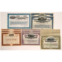 New Orleans Railroad Stocks & Bonds   (105209)
