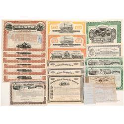 New York Railroad Stocks    (105164)