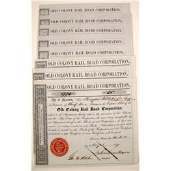 Old Colony Railroad Company - Massachusetts    (79615)