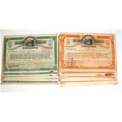 Peoples Traction Company of Philadelphia Stock Certificates   (79621)