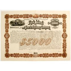 Railroad Stock Certificate   (79600)