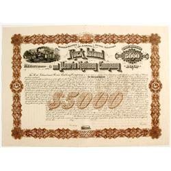 Railroad Stock Certificate   (79600)